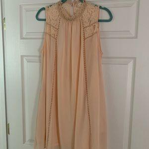 Altard State Peach Flower Dress